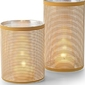 Świecznik amber 20 cm