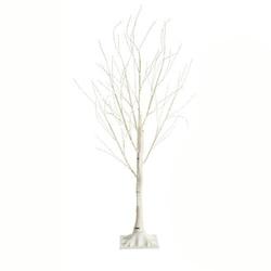 Drzewko ozdobne brzoza 150cm lampki świąteczne 120 led