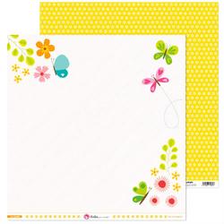 Ozdobny papier Mój Ogród 30,5x30,5 cm - 08