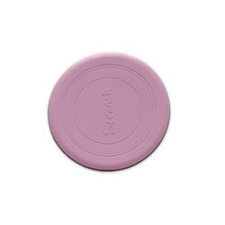 Różowe silikonowe zwijane frisbee