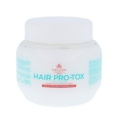 Kallos cosmetics hair pro-tox maska do włosów zniszczonych dla kobiet 275ml
