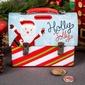 Puszka skarbonka świąteczna  kuferek z uchwytem altom design boże narodzenie, dekoracja mikołaj 14 x 7 x 10,5 cm