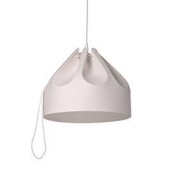 Loftlight :: lampa wisząca beza 1 biała szer. 39 cm