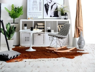 Krzesło bujane tunis floro
