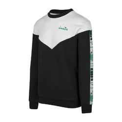 Bluza męska diadora sweatshirt crew 5palle offside v - czarny