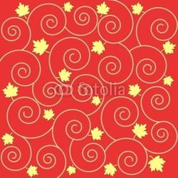 Obraz na płótnie canvas liście i wiry
