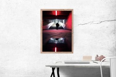 Cisza - plakat premium wymiar do wyboru: 59,4x84,1 cm