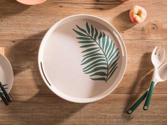Taca bambusowa altom design organic okrągła 30 cm