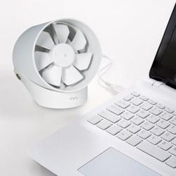 Elektroniczny wiatrak biurkowy