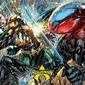 Aquaman atlantean punch - plakat komiksowy