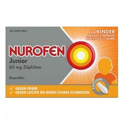Nurofen junior zaepfchen 60 mg