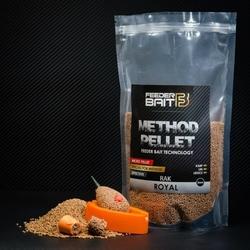 Method pellet feeder bait royal rak 2mm 800g