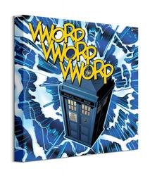 Doctor who vworp - obraz na płótnie