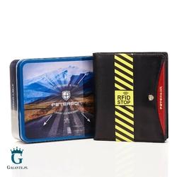 Duży portfel męski blackred peterson 301-01 rfid