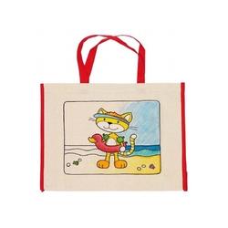 Kotek torba plażowa do kolorowania