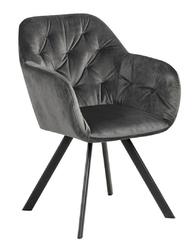 Krzesło lola vic dark grey auto return - szary ciemny