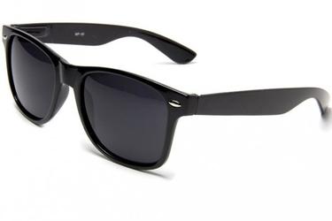 Okulary nerdy przeciwsłoneczne czarne