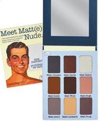 The balm meet matte nude kosmetyki damskie - paleta cieni do powiek 25.5g
