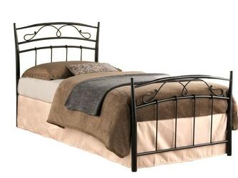 Łóżko marietta 90x200 czarne