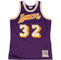 Koszulka Mitchell  Ness Magic Johnson 1984-85 NBA Hardwood Classics Swingman Los Angeles Lakers - Johnson Away