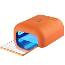 Lampa uv 36w timer soft orange z wysuwanym dnem