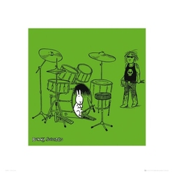 Bunny suicides drum - reprodukcja