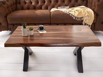 Nowoczesna ława amazonas z drewna palisandru  110 x 60 cm