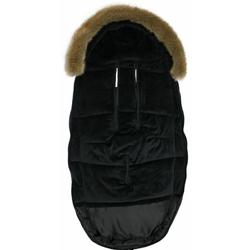 Śpiworek do wózka dooky -  black furry 6-36m