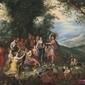 alegoria jesieni -  jan brueghel starszy ; obraz - reprodukcja