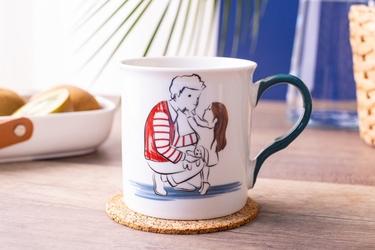 Kubek do kawy i herbaty porcelanowy altom design dzień ojca 250 ml, dekoracja a