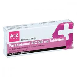 Paracetamol abz 500 mg tabl.