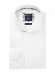 Męska koszula biała twill 37