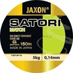 Żyłka matchowa JAXON SATORI Match ciemnobrązowa 0,14mm 5kg 150m