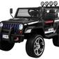 Raptor drifter new 4x4 czarny dwuosobowe auto na akumulator + pilot
