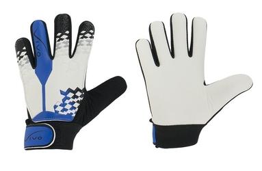 Rękawice bramkarskie juniorskie vivo gk-1020 white-blue
