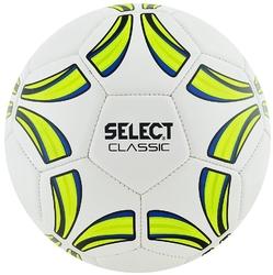Piłka nożna select classic 4 biało-żółty