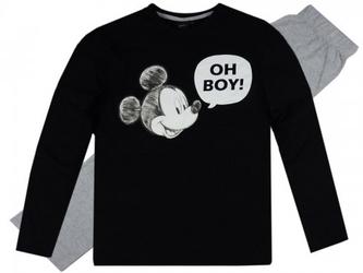 Piżama męska myszka mickey czarna l