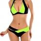Bikini strój kąpielowy push up żółty