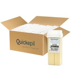 Quickepil 50 szt. wosk do depilacji rolka zink-argan 110g