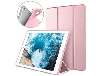 Etui alogy smart case gel do apple ipad air 3 2019 pro 10.5 różowe +szkło