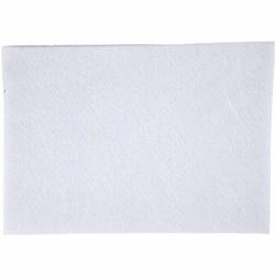 Dekoracyjny filc A4 - biały - BIA
