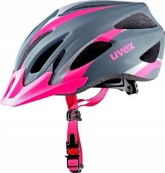 Kask uvex viva 2 mat 41-0-104 szaro-różowy mat