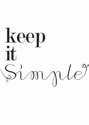 Keep it - plakat