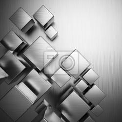 Fototapeta streszczenie metaliczne tło