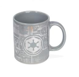 Star wars death star surface - kubek metalizowany