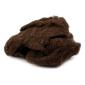 Wełna zgrzebna 20 g - brązowy - brąz