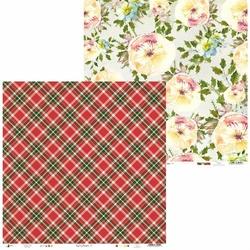 Papier świąteczny do scrapbookingu Rosy Cosy Christmas 30,5x30,5 cm - 03 - 03