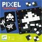 Pixel tangram drewniana układanka logiczna