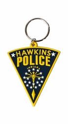 Stranger Things Hawkins Police - brelok