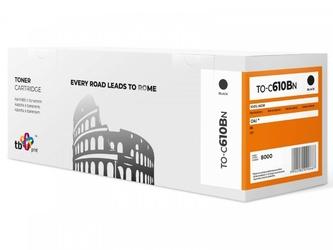 Tb print toner do oki c610 to-c610bn czarny 100 nowy